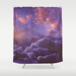 Memories of Thunder Shower Curtain