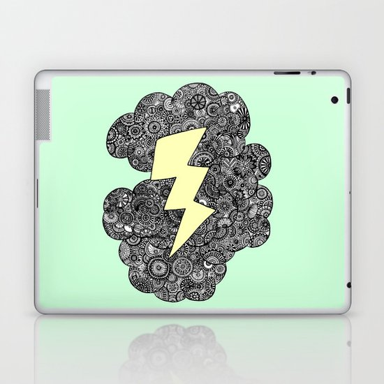 Storm Cloud Laptop & iPad Skin