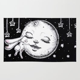 Talk to the moon Rug