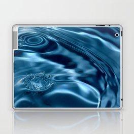 Deep Blue Drip Laptop & iPad Skin