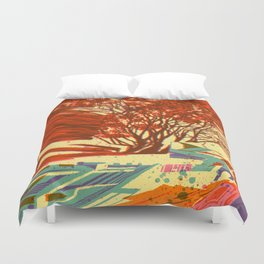 A bird never seen before - Fortuna series Duvet Cover