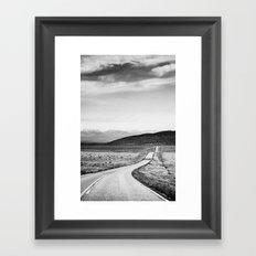 Colorado Highway 69 Framed Art Print