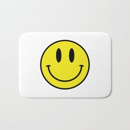 Smiley. Acid House Bath Mat