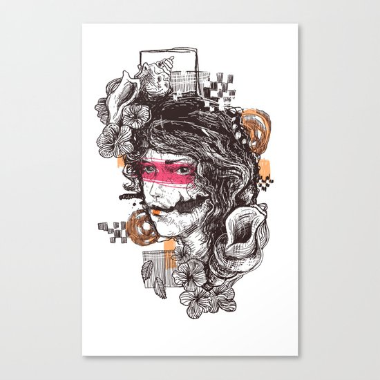 lookbroken Canvas Print