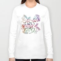 vintage floral Long Sleeve T-shirts featuring Floral by famenxt
