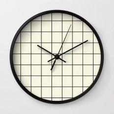 simple grid Wall Clock