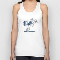 tatoo Tank Tops featuring the Sailor with Dragon Tatoo by Zachary Huang