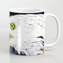 Eagle Marker Ink Drawing Coffee Mug