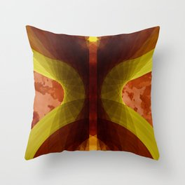 Abstract X Throw Pillow
