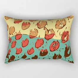 Hearts On Fire Rectangular Pillow