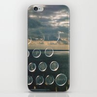 typo iPhone & iPod Skins featuring typo by Richard PJ Lambert