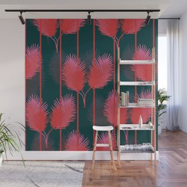 Rouge Flamant Wall Mural