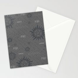 Dean and Sam Aliases Stationery Cards