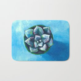 Little Succulent #2 Bath Mat