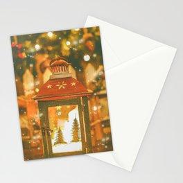 Christmas Lantern. Stationery Cards