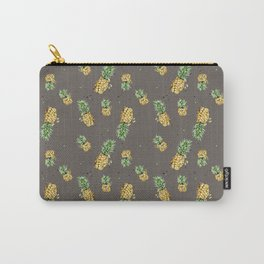 Kaki pineapple pattern Carry-All Pouch