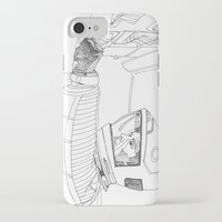 2001 a space odyssey iPhone & iPod Cases featuring 2001 A Space Odyssey by Ah Shun