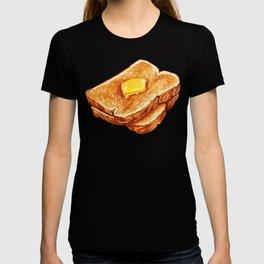 Toast Pattern T-shirt