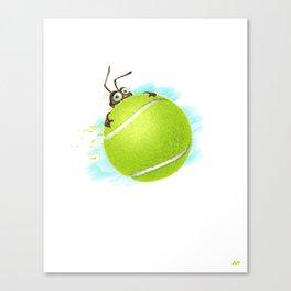 Tennis bug Canvas Print