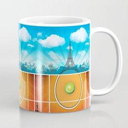Paris Tennis Coffee Mug