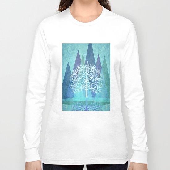 Winter Tree #Society6 #decor #buyart Long Sleeve T-shirt