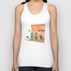 Super Mario GoT Unisex Tank Top