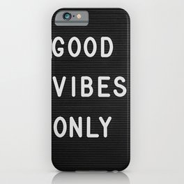 Pink Vibes iPhone Case
