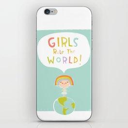 Girls Rule iPhone Skin