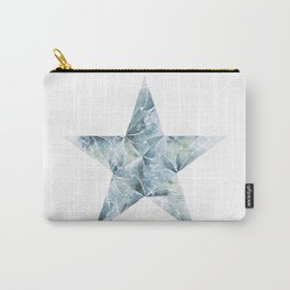 Frosted Star Carry-All Pouch