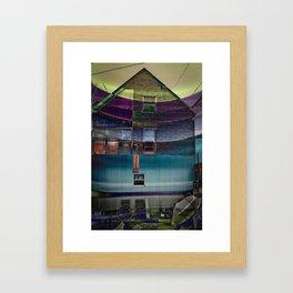 Psycho House  Framed Art Print