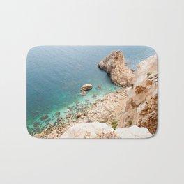 Summer landscapes around Costa Brava, impressive cliffs and coastlines. Bath Mat