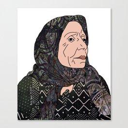 No Ban No Wall   Art Series - The Jewish Diaspora 006 Canvas Print