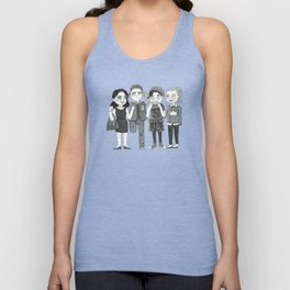 Riverdale - Archie, Veronica, Betty, Jughead Unisex Tank Top