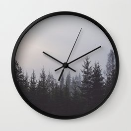 LOST IN THE NATURE Wall Clock