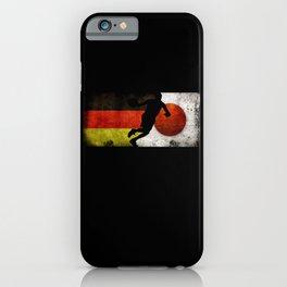 Basketball Men Germany Flag Tokyo 2021 Japan Flag iPhone Case