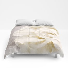 Petals Impasto Alabaster Comforters