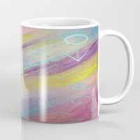 equality Mugs featuring EQUALITY by Valentinas Vanity Artwork