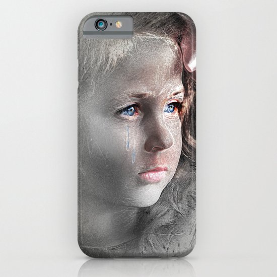 Girl with Bow iPhone & iPod Case