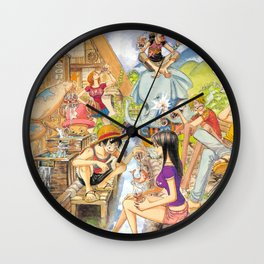Onepiece Wall Clock