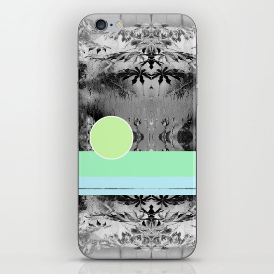 green circle iPhone & iPod Skin