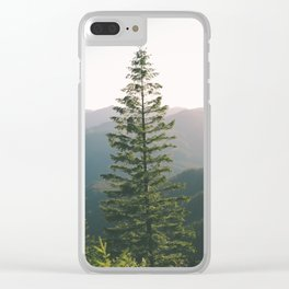 Forest XV Clear iPhone Case