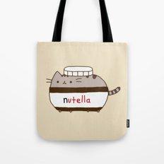 Nutella Cat Tote Bag