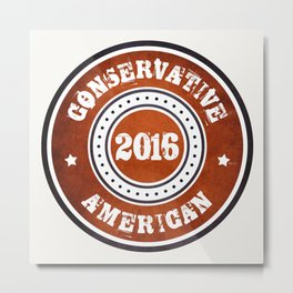 Conservative American Metal Print
