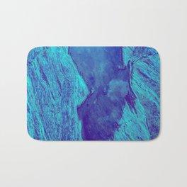 Blue Gorge Bath Mat