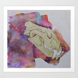 Mystic Tiger Art Print