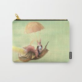 Cedric and the Golden Snail Carry-All Pouch