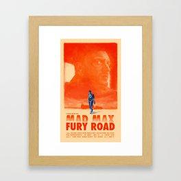 Mad Max: Fury Road Framed Art Print