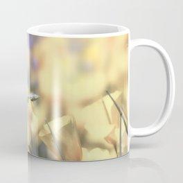 Yellow Poppy Wildflower Art by Murray Bolesta Coffee Mug