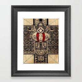 Espero que encuentre la paz Framed Art Print