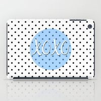 xoxo iPad Cases featuring XOXO by Pati Designs
